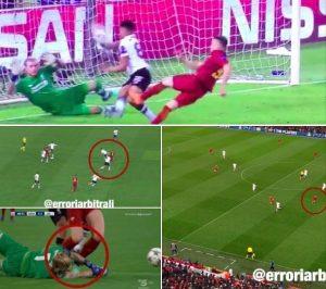 Roma-Liverpool 4-2, moviola: Arnold parata, Dzeko era in gioco. Negati due rigori alla Roma