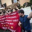 Roma-Liverpool, i tifosi inglesi bevono alcol non rispettando il divieto