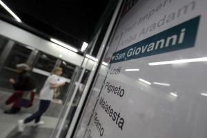 Metro c stazione San Giovanni