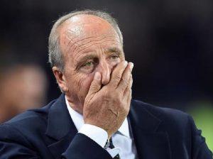 """Ventura a Che tempo che fa: """"Mi ero dimesso dopo la partita con la Macedonia..."""" (foto Ansa)"""