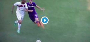 Jordan Veretout (VIDEO), fallo orribile in Fiorentina-Cagliari che genera una rissa