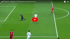 """YOUTUBE Ulreich si scusa dopo la papera in Real Madrid-Bayern Monaco: """"Eliminazione colpa mia"""""""