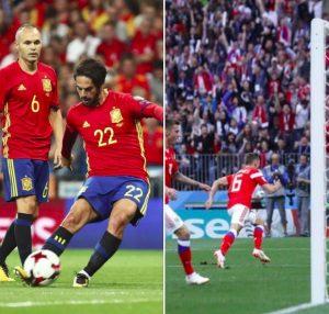 Spagna-Russia streaming e diretta tv, dove vederla