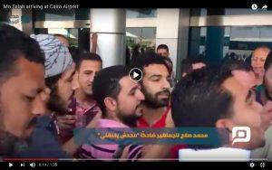 YOUTUBE Arriva Salah, si ferma Il Cairo: il calciatore accolto come un re