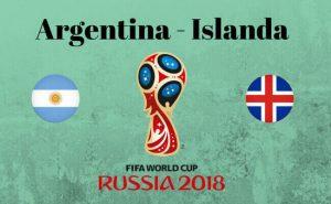 Argentina-Islanda streaming diretta tv, dove vedere Mondiali 2018