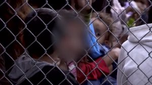 Bimbi gabbia confine Usa Messico