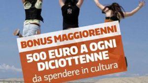 Bonus cultura 500 euro ai 18enni bocciato dal ministro Bonisoli...anzi no, dai giudici! Il pasticcio del Pd