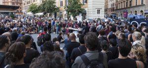 Roma, piazza San Cosimato Cinema America