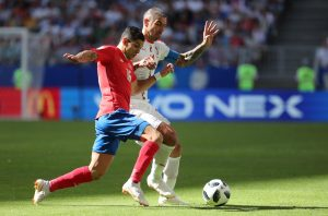 Costa Rica-Serbia 0-1 highlights-pagelle, Kolarov gol su punizione