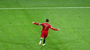 Cristiano Ronaldo show in Portogallo-Spagna 3-3, video con la sua tripletta