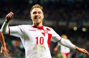 Danimarca-Australia 1-0, highlights: Eriksen subito in gol
