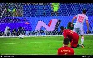 De Gea video papera sul gol di Cristiano Ronaldo in Portogallo-Spagna