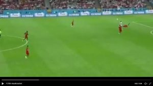 Diego Costa video gol Portogallo-Spagna con gomitata a Pepe...Var assegna rete
