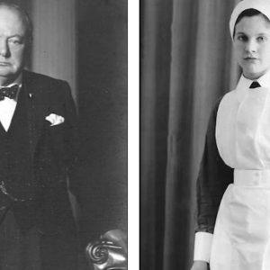 Doris Miles, le lettere dell'infermiera che si prese cura di Winston Churchill durante la guerra