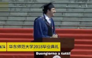 Carlo Dragonetti, lo studente italiano diventato una star in Cina con questo discorso