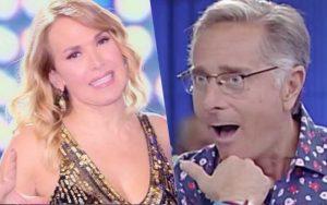 """Barbara D'Urso e Paolo Bonolis, siparietto bollente ad Avanti un altro: """"Posso? Ammazza che cuore!"""""""