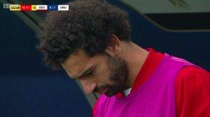 Egitto-Uruguay, Salah quasi in lacrime dopo il gol di Gimenez