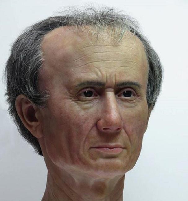 Giulio Cesare la sua faccia