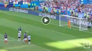 Francia-Argentina, gol di Griezmann su rigore dopo coast to coast di Mbappé