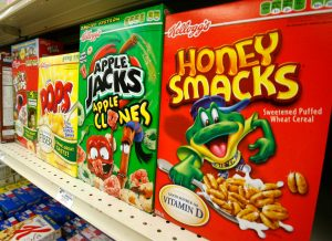 Salmonella, Kellogg's ritira i cereali Honey Smacks in 9 Paesi
