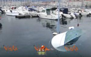 Trieste imbarcazione affonda nel porto