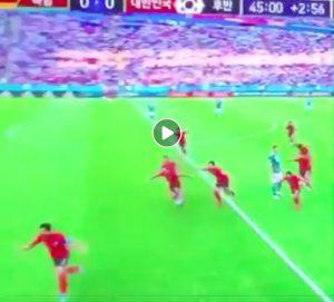 Kim Young-Gwon video gol Corea-Germania convalidato dal VAR