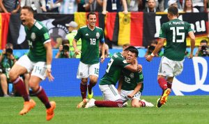 Clamoroso ai Mondiali, il Messico batte i campioni in carica della Germania