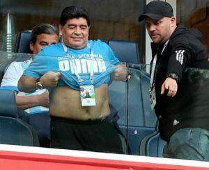 "Mondiali 2018, Maradona: ""Sto bene. Non sono stato ricoverato"" (foto Ansa)"
