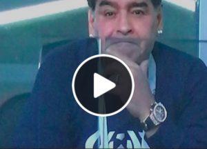 Maradona show in tribuna, spunta video durante Argentina-Islanda
