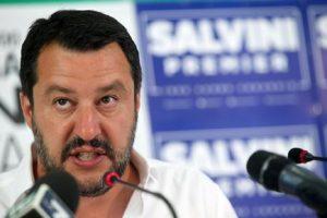 Rom, Matteo Salvini