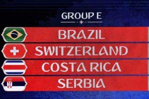 Mondiali 2018, Girone E: squadre, classifica e calendario partite