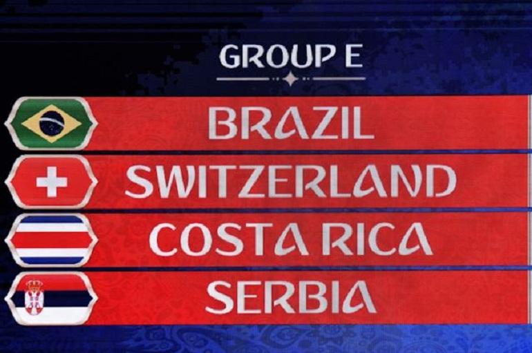 Gruppo G Mondiali 2020 Calendario.Mondiali 2018 Girone E Squadre Classifica E Calendario