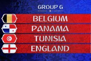 Mondiali 2018, Girone G: squadre, classifica e calendario partite