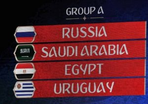 Mondiali 2018, Girone A: classifica e calendario partite