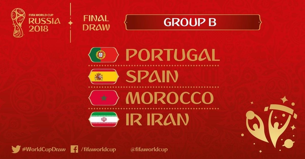 Mondiali Calendario.Mondiali 2018 Girone B Squadre Classifica E Calendario