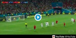 Portogallo-Spagna, video rigore Cristiano Ronaldo: var conferma fallo di Nacho