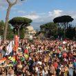 Il corteo al Roma Pride