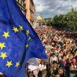 Roma Pride, la folla in piazza