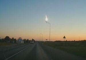 YOUTUBE Asteroide in Russia: palla di fuoco sopra Lipetsk e Kursk
