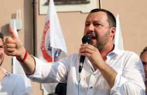 """Matteo Salvini: """"Abbiamo fatto più noi in 2 settimane che il Pd in 6 anni"""""""
