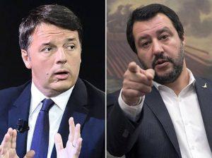 """YOUTUBE Salvini a Renzi: """"Io bullo? Gli hanno già risposto italiani cacciandolo"""""""