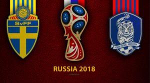 Svezia-Corea del Sud highlights e pagelle della partita dei Mondiali di Russia 2018
