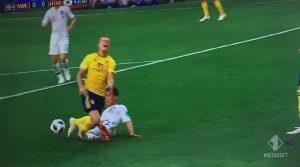 Svezia-Corea del Sud, var assegna rigore: Granqvist realizza
