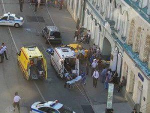 Mosca, taxi investe pedoni: incubo terrorismo ma era tassista ubriaco