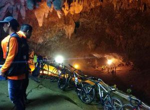 Thailandia: squadra di baby-calciatori intrappolata in una grotta