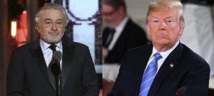 Donald Trump replica a Robert De Niro e lo insulta su Twitter
