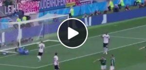 Video, Lozano come Del Piero: altro incubo Mondiale per la Germania