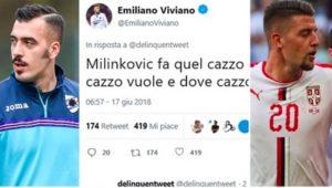 """Emiliano Viviano: """"Milinkovic Savic fa quel caz.. che vuole"""""""