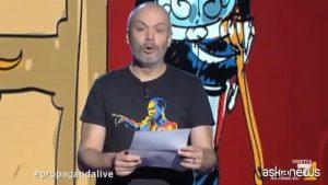 """Zoro, lettera del presidente Mattarella a Propaganda Live: """"Farò riparare la porta"""""""