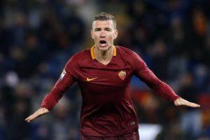 Barcellona-Roma streaming e diretta tv, dove vederla: orario e data della International Champions Cup. Edin Dzeko nella foto
